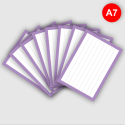 Flashcards A7 Lila