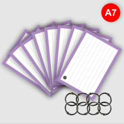 500 Flashcards A7 Lila met...