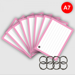 500 Flashcards A7 Roze met...